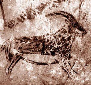 Как предки рисовали на камнях и песке