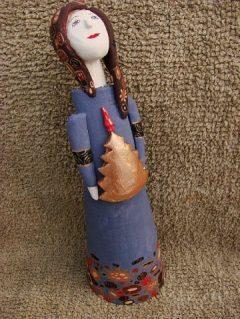Игрушки из керамики Новый Год