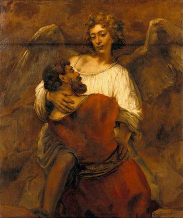 Рембрандт Встреча с Ангелом
